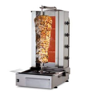 Machine A Kebab 4 Feux et Moteur en Bas