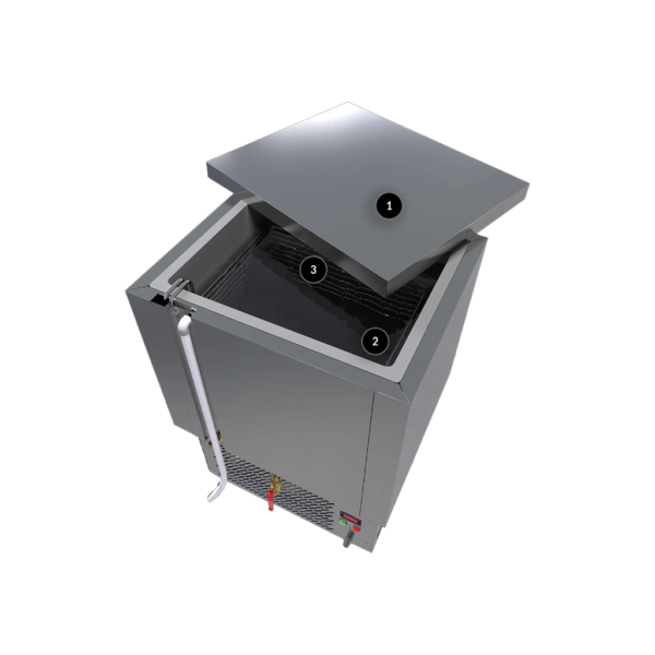 Refroidisseur d'eau 240 litres