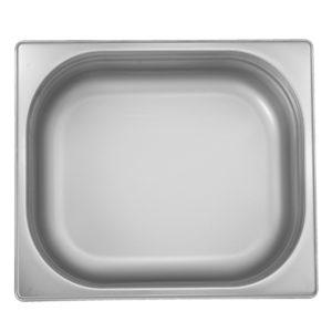 Bac Gastronomique en Inox 1/2-20 mm cap 0.85L