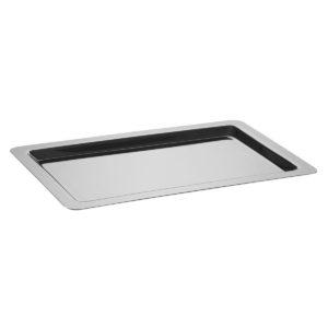 Plateau rectangulaire inox 65×45 cm