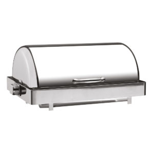 Chafing Dish rectangulaire 180° Rolltop