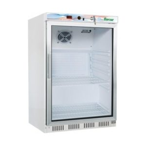 Armoire refrigérée blanche vitrinée 30L