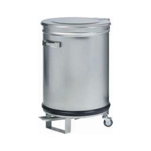 Poubelle inox 10 litre