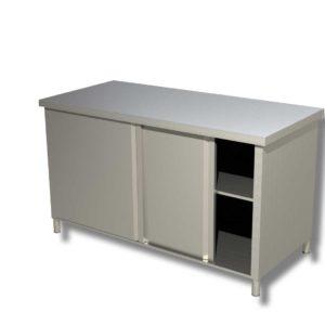 Table Basse Centrale Chauffante avec armoires coulissantes 1200*600*850