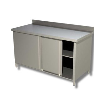 Table Basse Chauffante Murale Avec Portes Coulissantes 1400*700*850