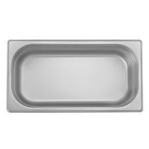 Bacs Gastronorme en Inox Gn 1/3 – 100 mm