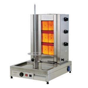 Machine à Kebab Gaz 3 Radians