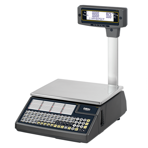 Balance Electronique de comptoir caisse avec étiquette 15/30Kg