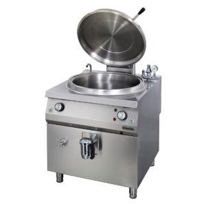 Marmite électrique cylindrique 150 lt chaleur indirecte