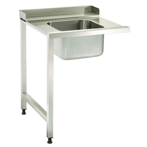 TABLE D'ENTRÉE POUR LAVE-VAISSELLE(DROITE)750x900x870 mm